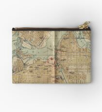 Vintage Map of Ottawa Canada (1894) Studio Pouch