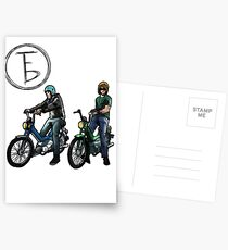 The Frontbottoms Motorcycle Club Postcards