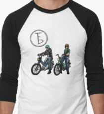 The Frontbottoms Motorcycle Club Men's Baseball ¾ T-Shirt
