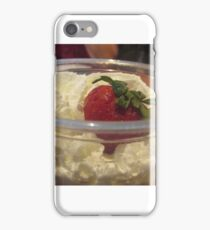 Whipped Cream and Strawberry iPhone Case/Skin