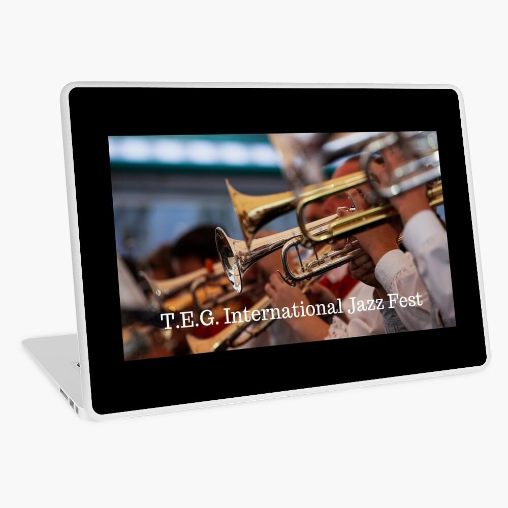 T.E.G International Jazz Fest Comemoritive Print Laptop Skin