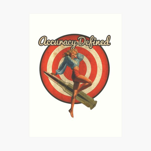 6.5 Creedmoor Accuracy Defined | Vintage Art Print