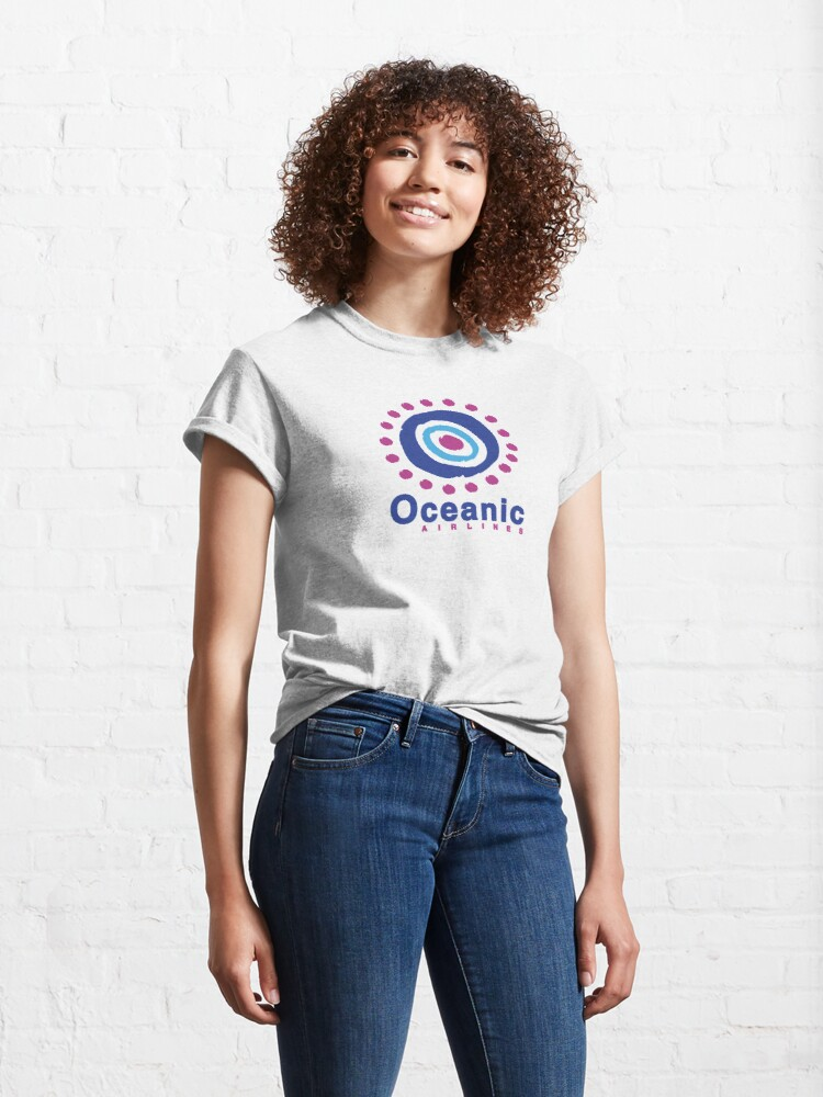 Alternate view of Oceanic Airlines Classic T-Shirt