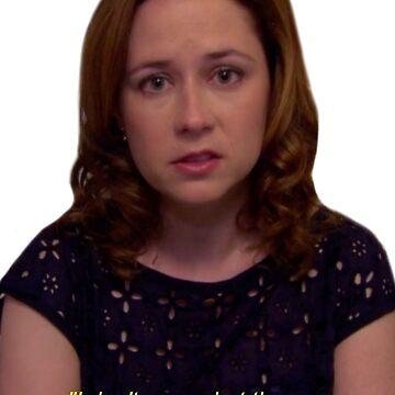 Pam en la cena de Michael de TellAVision