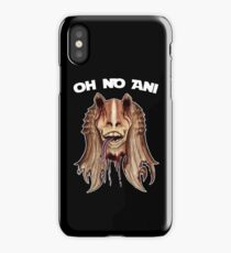 Oh No Ani - Dead Jar Jar iPhone Case/Skin