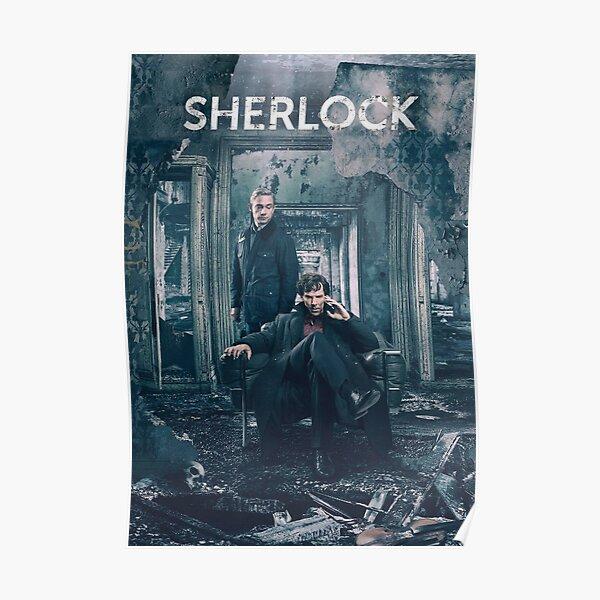 Affiche Sherlock BBC Poster