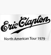 eric clapton tour  Poster