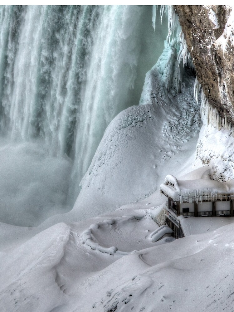 House by the falls by daveriganelli