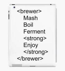 Brewer html iPad Case/Skin