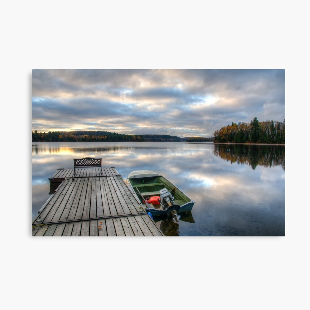 Cottage Life Canvas Print