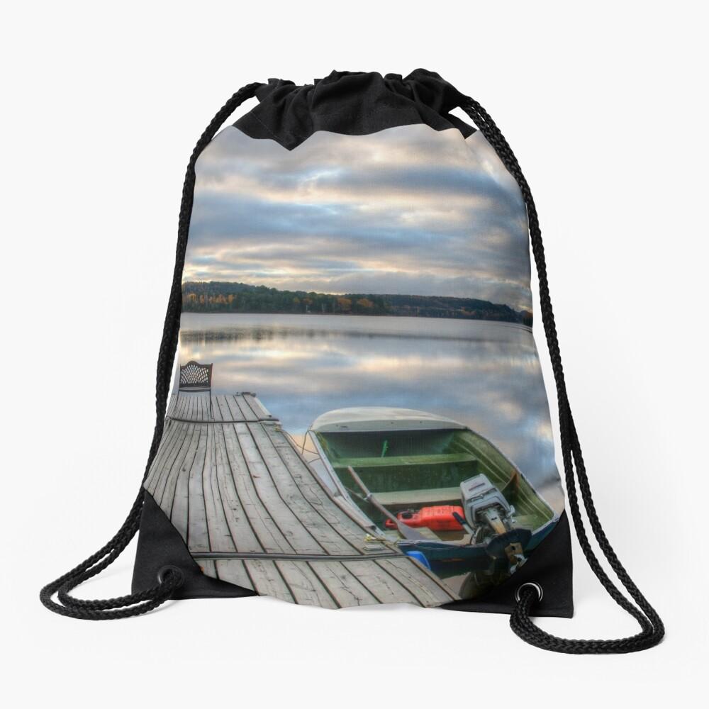 Cottage Life Drawstring Bag
