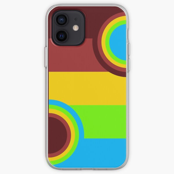 Abstract iPhone Soft Case