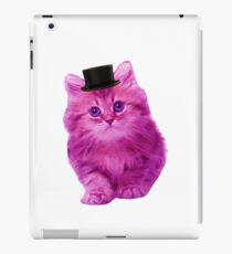Top hat cat iPad Case/Skin