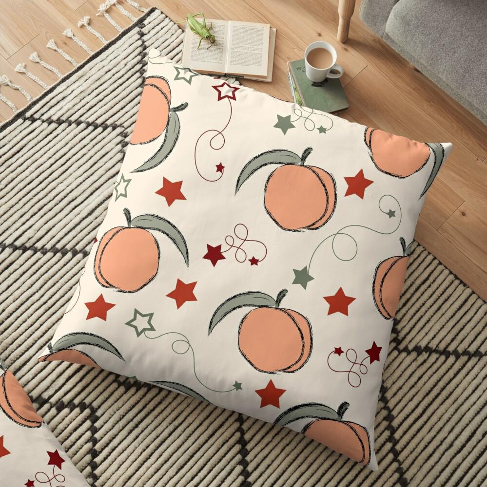 Just Peachy Floor Pillow