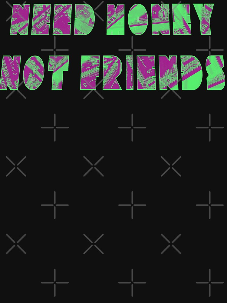 Pastel - Need Money Not Friends by RabbitLair