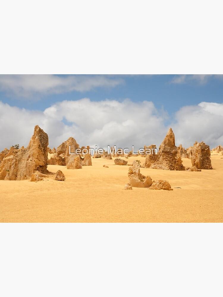 The Pinnacles at Nambung National Park Western Australia by yallmia