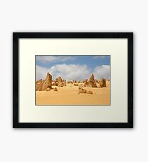 The Pinnacles at Nambung National Park Western Australia Framed Print