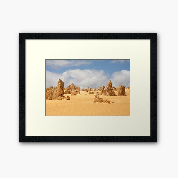 The Pinnacles at Nambung National Park Western Australia Framed Art Print