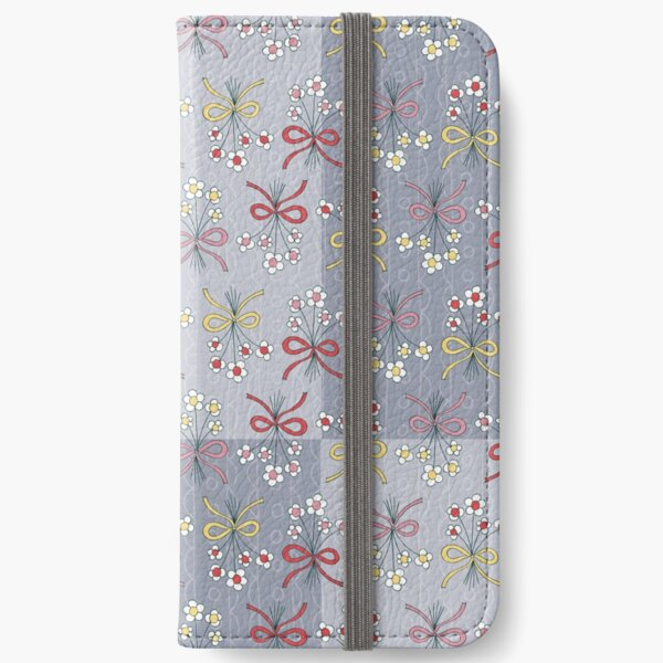Floral Bunches iPhone Wallet