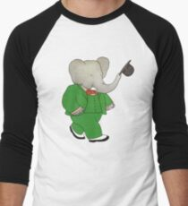 Babar l'Elephante Men's Baseball ¾ T-Shirt