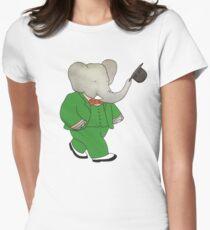 Babar l'Elephante Women's Fitted T-Shirt