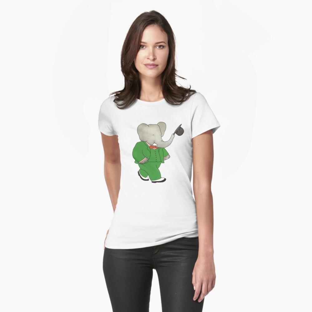 Babar l'Elephante Womens T-Shirt Front
