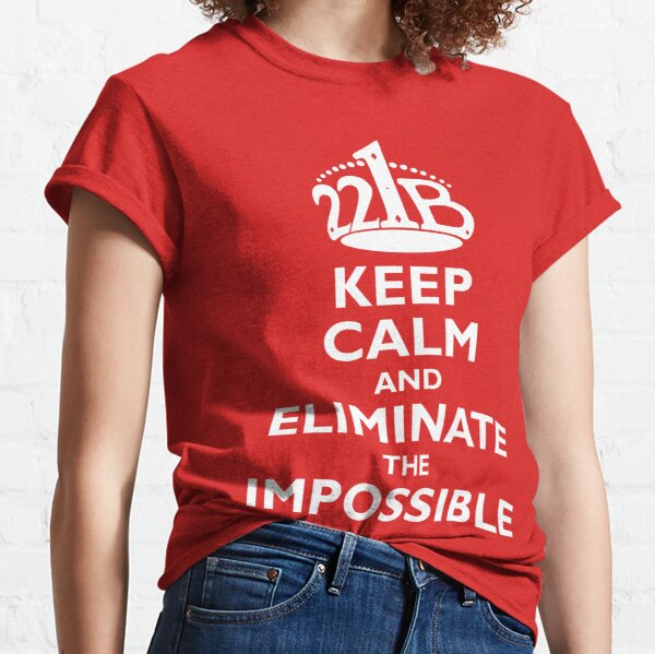 Sherlock Holmes: The Game Is Afoot Classic T-Shirt
