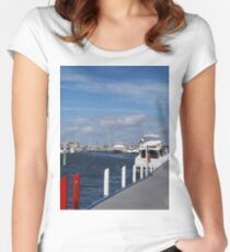 Messing about on the River Women's Fitted Scoop T-Shirt