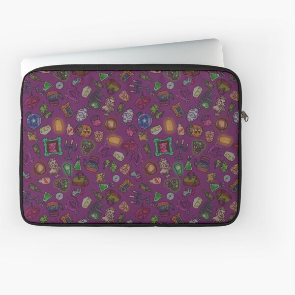 Magenta objects of life Laptop Sleeve