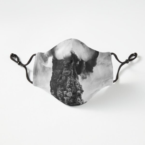 Fitted Masks, First Soviet atomic bomb test, Atomic Bomb Explosion Fitted 3-Layer