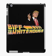 Biff To The White House iPad Case/Skin
