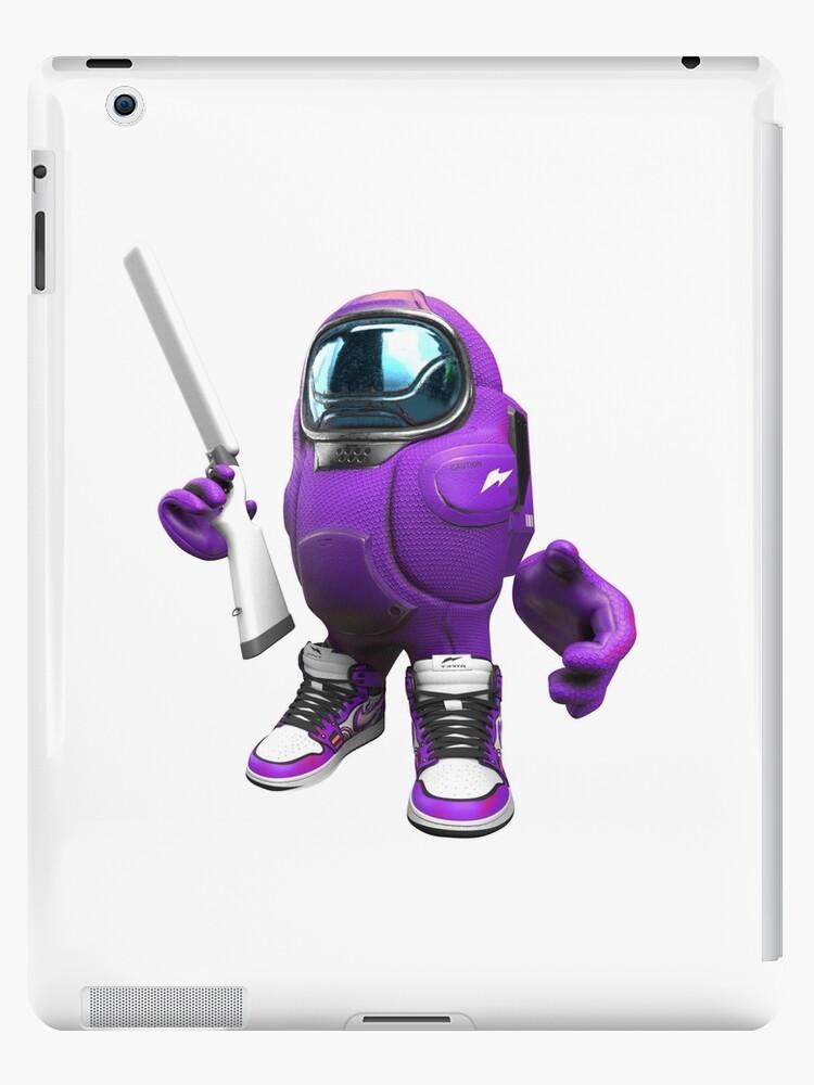 Among Us Drip Purple Ipad Case Skin By Tohski Redbubble