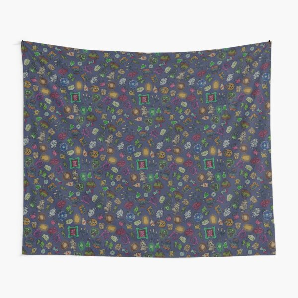 Objects of life Tapestry