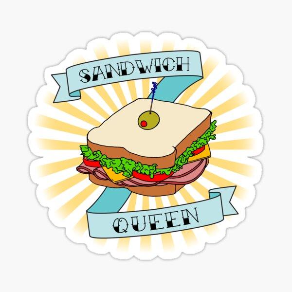 Sandwich Queen Sticker