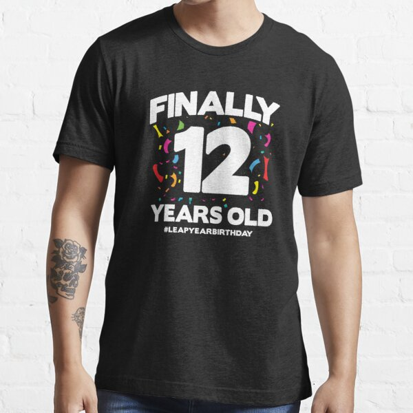 48 Year Old Birthday - Leap Day 2024 - Leap Year Birthday Essential T-Shirt