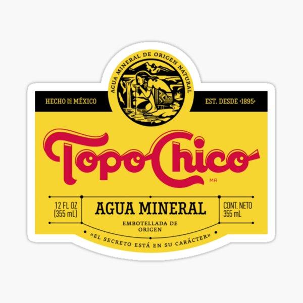 Topo chico label Sticker