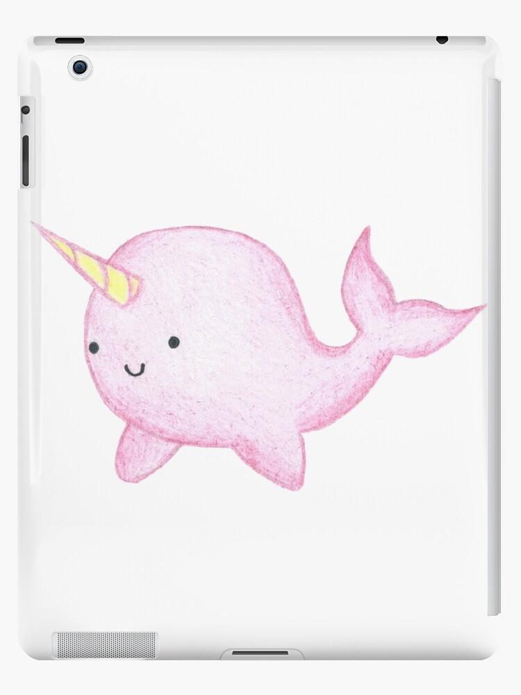 Vinilos y fundas para iPad «Lindo Narval rosado» de harrisrose ...
