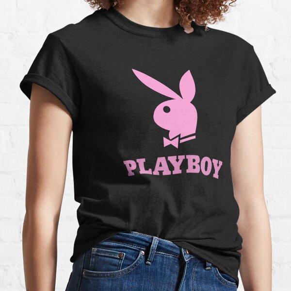 Playboy rosa Camiseta clásica