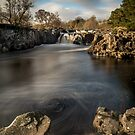 Low Force Waterfall, Teesdale by Dave Hudspeth