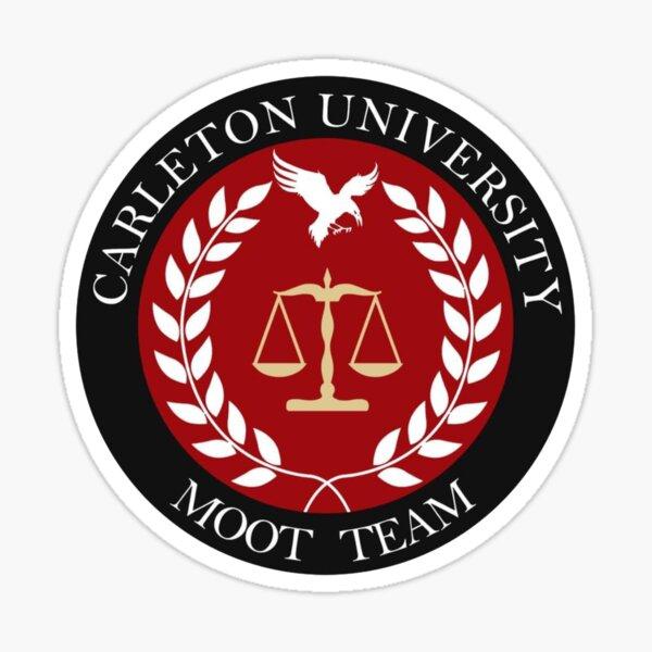Équipe de Carleton Moot Sticker