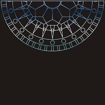 Geometric Mandala by Terrain75