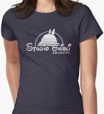 Studio ghibli Totoro Women's Fitted T-Shirt