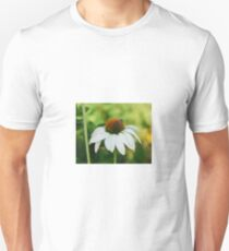 Echinacea Purpurea with Bee T-Shirt