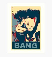 Cowboy Bebop - Bang - Spike Spiegel Art Print