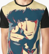 Cowboy Bebop - Bang - Spike Spiegel Graphic T-Shirt