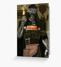 Doctor Doom Greeting Card