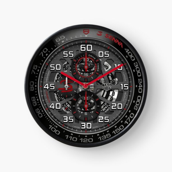 F1 SPORTS WATCH FAMOUS PILOT COMMEMORATIVE TRIBUTE Clock