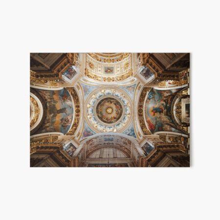 Sistine Chapel Ceiling Painting Renaissance Michelangelo Creation Art Board Print