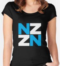 New Zealand NZ Symbol Women's Fitted Scoop T-Shirt