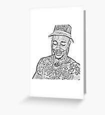 Dizzy Wright Greeting Card